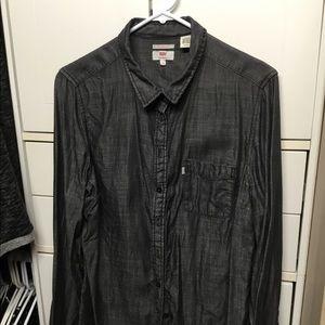 Levi's women's denim blouse